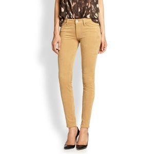 7 For All Mankind Sueded Skinny Pants or Jeans 27
